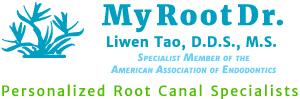 My Root Doctor | Liwen Tao, D.D.S., M.S.P.A Logo